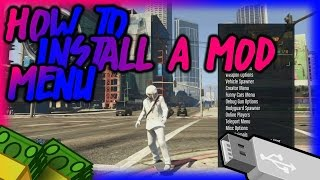 GTA 5 ONLINE USB MOD MENU [PS4-PS3-Xbox360-XboxOne] NO JAILBREAK