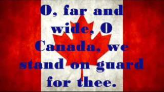 Canadian National Anthem ~ Lyrics