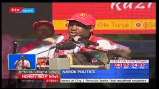 Race for Maa vote in Narok gets underway withGovernor Samuel Tunai launching his re-election bid