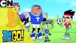 Teen Titans Go! | Learning How to Play Football | Cartoon Network