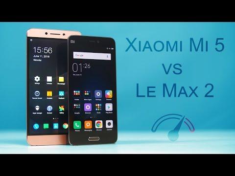 Xiaomi Mi 5 vs LeEco Le Max 2 Speedtest Comparison!