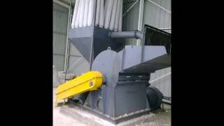 Hammer mill for biomass briquetting plant