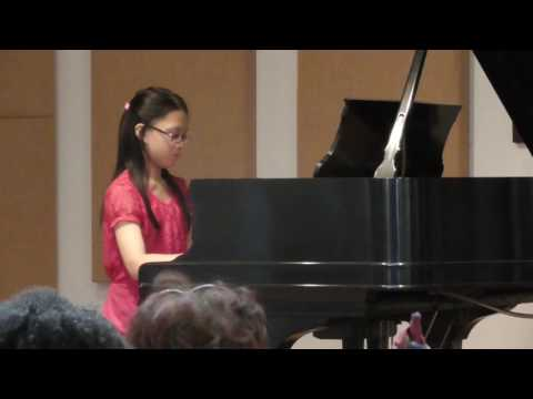 Helen Butkov student Karen Sabile.Royal Conservatory exam Level 5