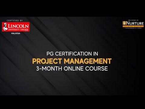 Project Management Certification 3-Month Online Course | iNurture ...