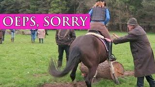 Crossles, liep Mojito de trainer omver tijdens het crossen ? | Paardrijden met Plezier