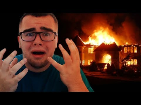 MY HOUSE CAUGHT ON FIRE!! | The Evil Within 2 - #1