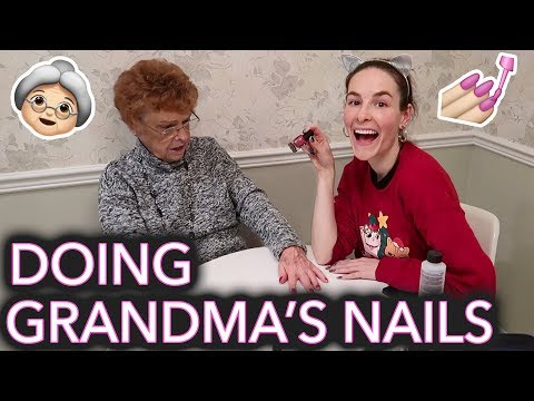 Painting My Grandma's Nails (she Thinks We're On National Television) Mp3