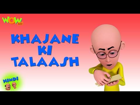Khajane Ki Talash Motu Patlu In Hindi 3d Animation Cartoon For