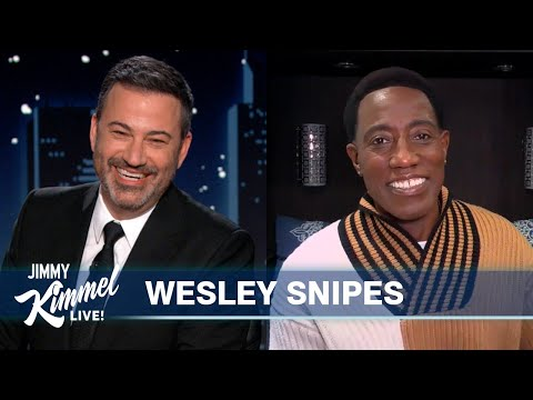 Wesley Snipes on Coming 2 America and Hanging out with Eddie Murphy & Stevie Wonder