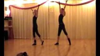 preview picture of video 'Danswedstrijd Lotte en Demi'
