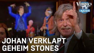 Johan verklapt geheim van Rolling Stones | VERONICA INSIDE