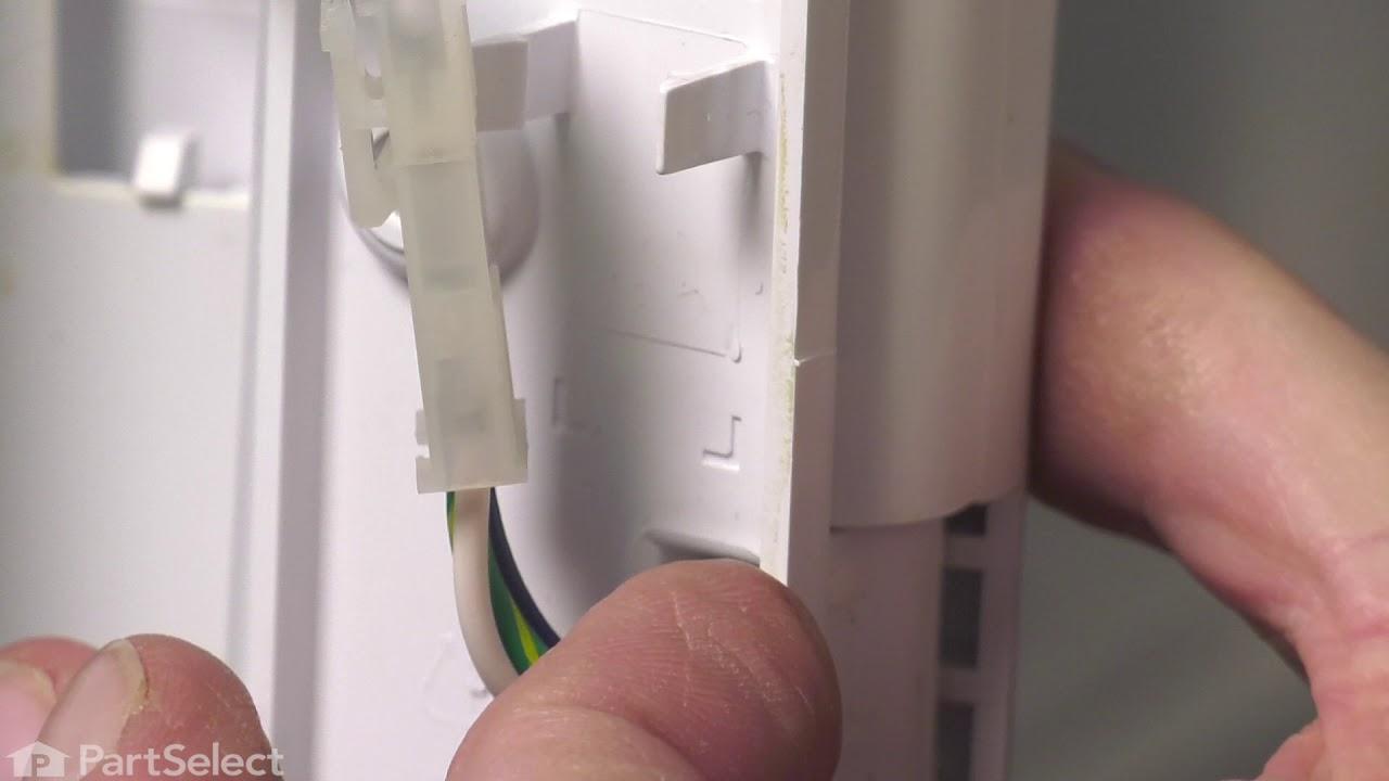 Replacing your Whirlpool Refrigerator Refrigerator Vertical Mullion Rail - Black