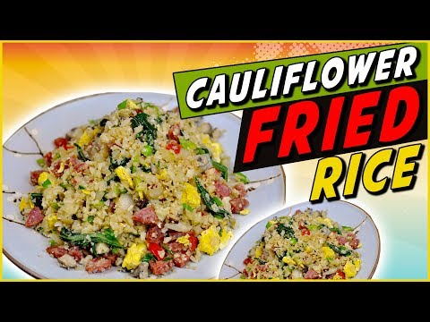 Video Mock Cauliflower Fried Rice Recipe