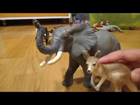 Schleich y Papo: Figuras de animales - Parte 1