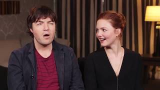 Tom Burke & Holliday Grainger (mini interview part 1)