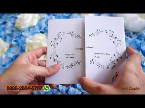 Video Desain Undangan Pernikahan Corel Draw CS630