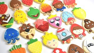 30 Amazing Cookies With ONE COOKIE CUTTER By Hanielas [part2]