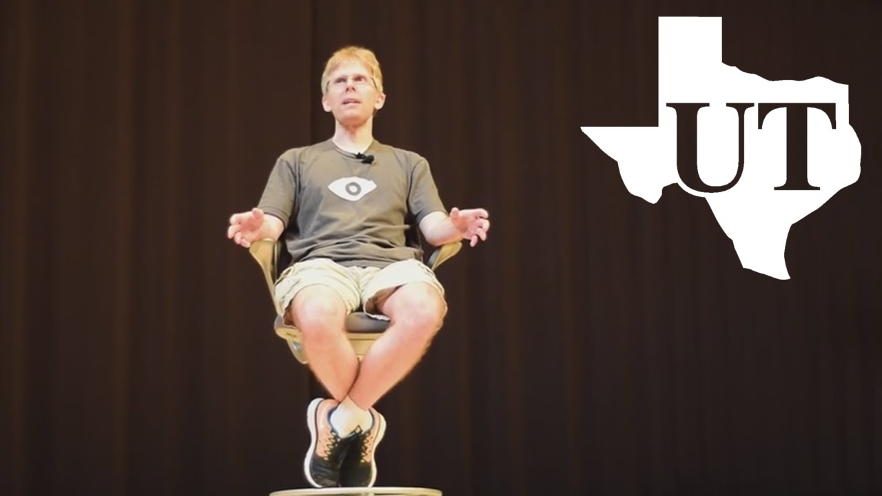 Watch John Carmack Talk About Virtual Reality. For Two Hours.