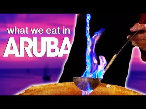 7 DAYS EATING IN ARUBA
