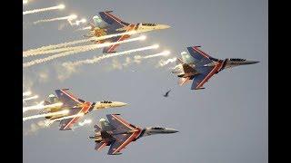МАКС 360: авиационная группа высшего пилотажа «Русские Витязи»