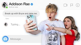My Boyfriend DM'd 100 of my Friends to See Who Would Reply **SHOCKING**📲💔| Piper Rockelle