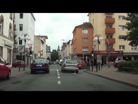 Offenbach Am Main - Tour Durch City, Lauterborn, Waldstraße, Odenwaldring [HD] Mp3