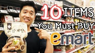 E Mart Korean Supermarket Tour 10 must-buy items in a Korean supermarket