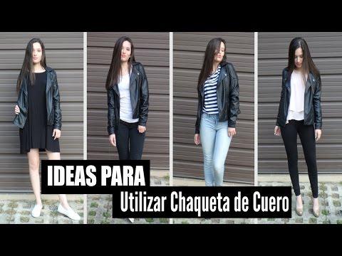 Ideas Para Utilizar Chaqueta De Cuero// Outfits, Tips y Mas! | LAURA MEJIA