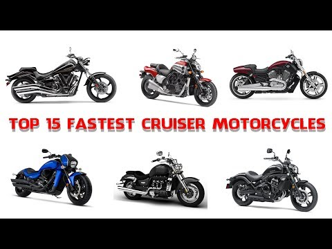 Top 15 Fastest Cruiser Motorcycles – Muscle And Performance