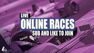 ONLINE RACES WITH SUBS - GAMER MUSCLE LIVE