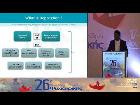 Pratap R. Chokka - The treatment of depression is evolving. Patients feel, think and do better