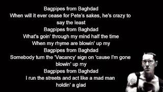 Eminem - Bagpipes from Baghdad lyrics [HD]