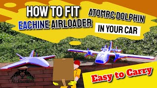 How to fit RC FPV Airplanes in your car