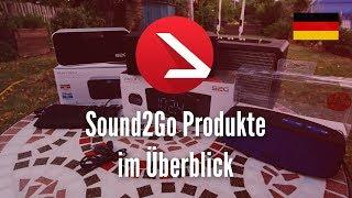 Bluetooth Lautsprecher & Radio, Ja es gibt sie noch! | Sound2Go Produkte im Überblick