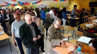 España Se Vuelca En Las Urnas Para Las Elecciones Legislativas 2019
