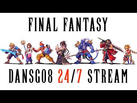 24/7 Final Fantasy Community Gaming Stream - FF8-9-10-12-13-15 Walkthroughs By Dansg08 - Description