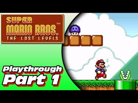 Super Mario Bros 2 (original) Walkthrough - Super Mario Bros