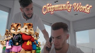 Gambar cover Zouhair Bahaoui - Hasta Luego ft TiiwTiiw & CHK & Alvin (Chipmunks Cover) بصوت السناجب
