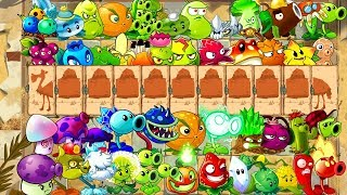 Plants vs Zombies 2 Every Plant vs Camel Zombie - New Power Plants  PVZ 2 Primal Gameplay