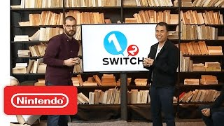 1-2-Switch – Nintendo Treehouse: Live with Nintendo Switch - dooclip.me