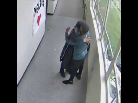 Video shows coach disarm, then embrace student with gun | ABC News