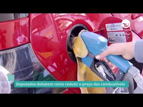 Deputados debatem como reduzir preço dos combustíveis – 05/10/21