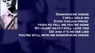 Chris Cummings - Somewhere Inside (+ lyrics 1998)