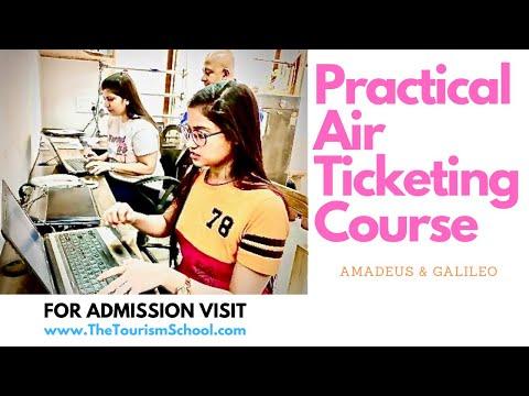 Air Ticketing Practical Training | Air Ticketing Diploma No IATA ...