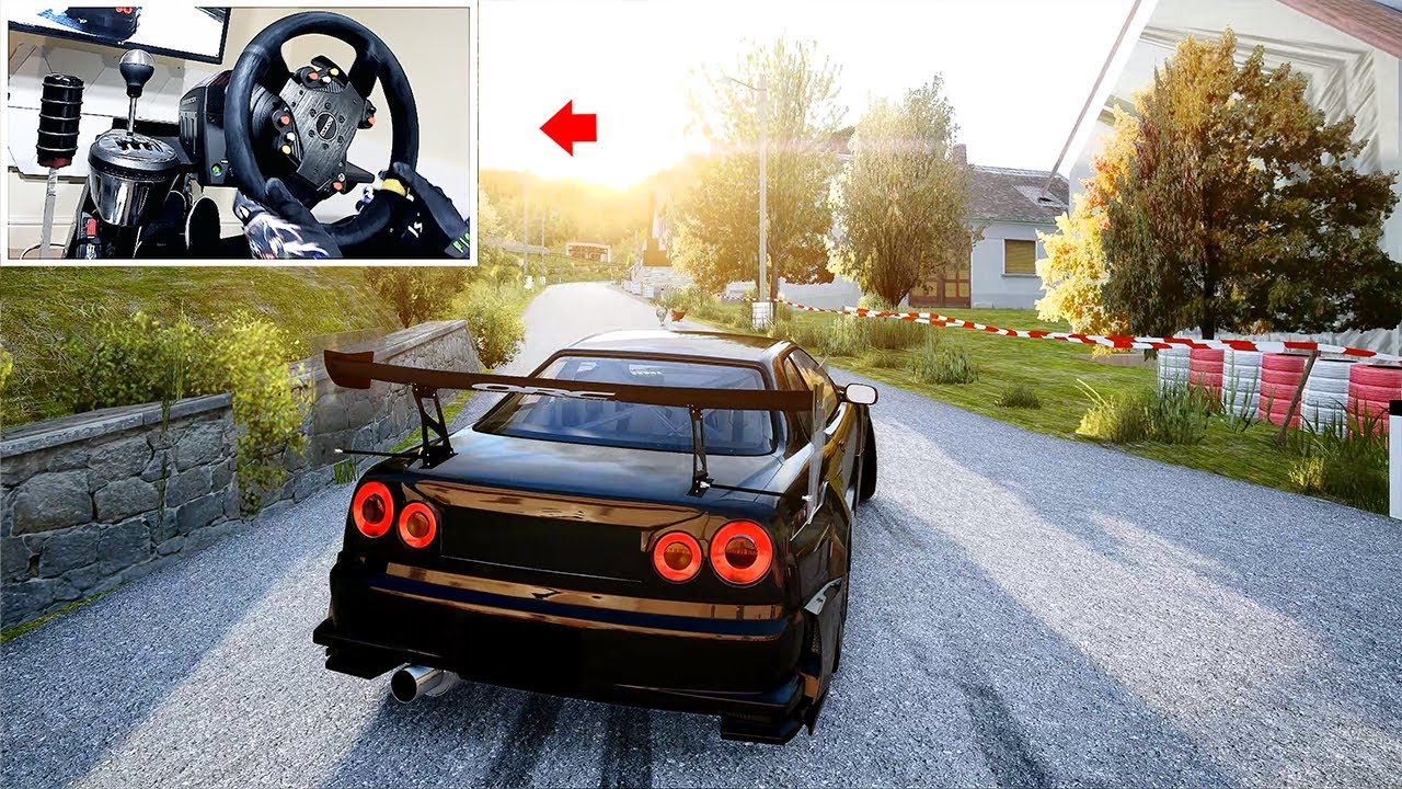 CTOretto: Drifting Rally Stage in 800+bhp Nissan Skyline | (4k) Thrustmaster Setup – Assetto Corsa – YouTube
