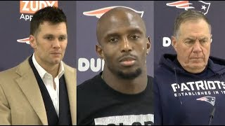[FULL] Patriots: Brady, McCourty & Belichick PostGame Conference | Patriots loss to Ravens 37-20