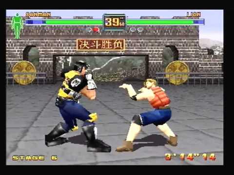 Fighters Megamix Walkthrough - Arcade (Course I: Secrets) by