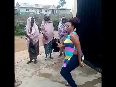 Lady Dancing To Muslim Women Begging Her For Help