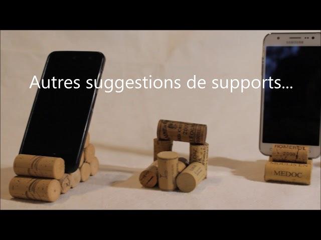 Créer un support pour smartphone