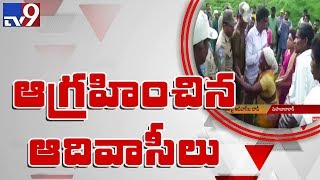 Tribals beat up forest officers for occupying their land in Mahabubabad - TV9